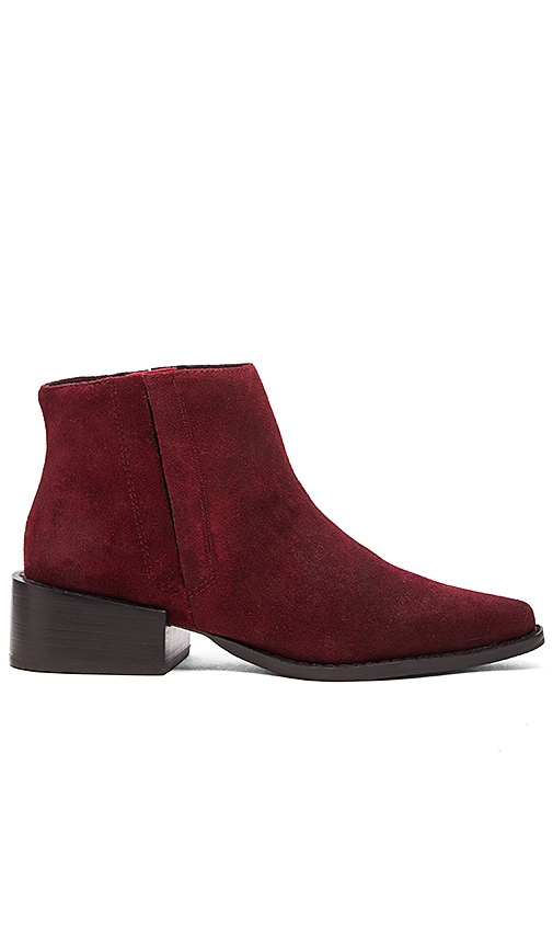 GREY CITY West Bootie in Cabernet