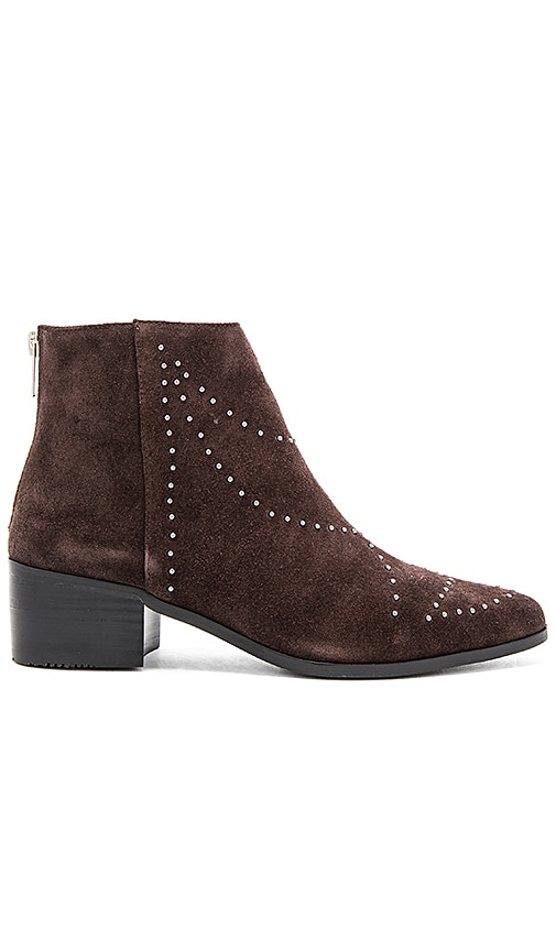 GREY CITY Wendy Bootie in Brown