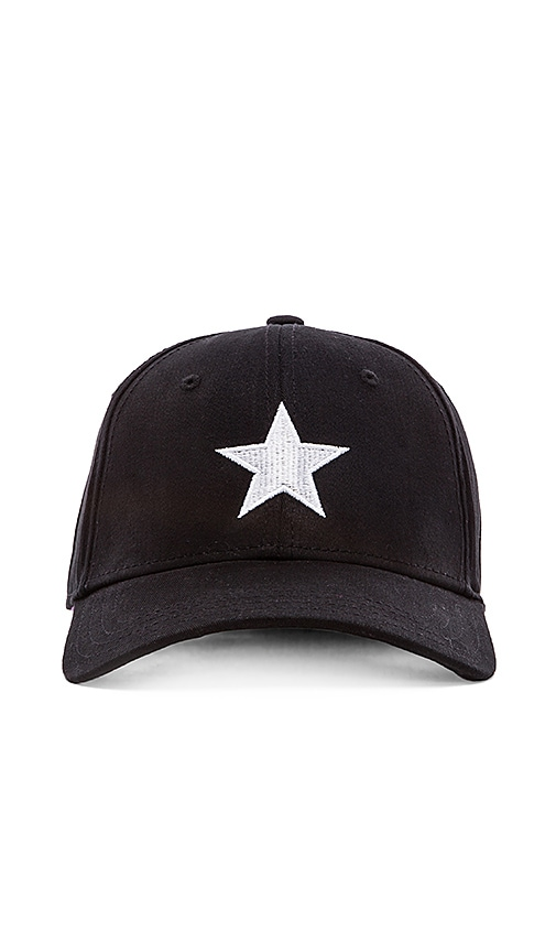 Gents Co. Lone Star Cap in Black