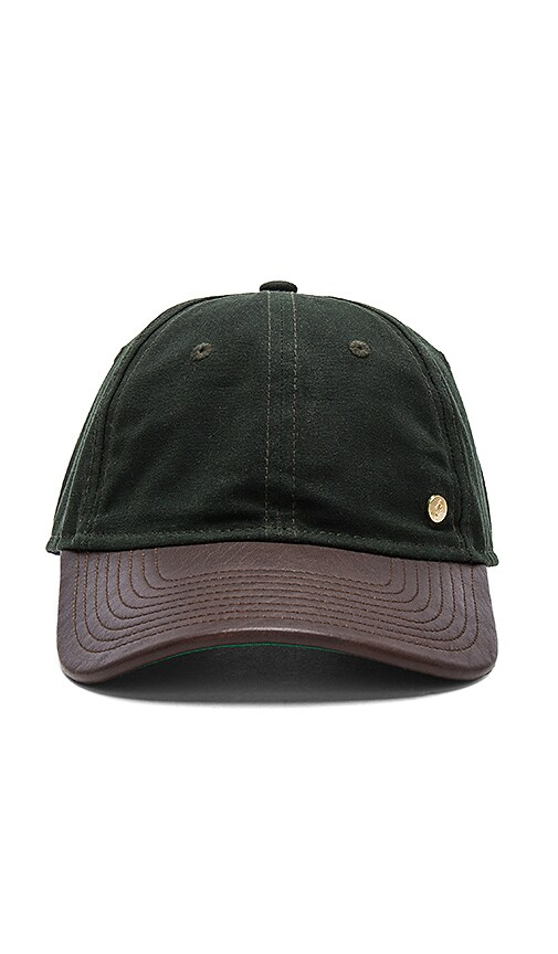 Gents Co. Alexander Cap in Dark Green