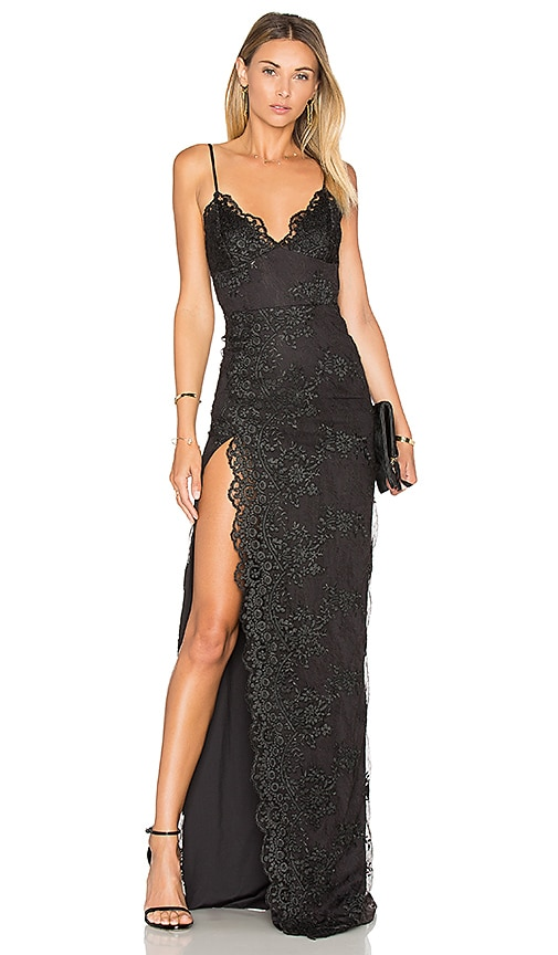 Gemeli Power Motel Jay Dress in Black