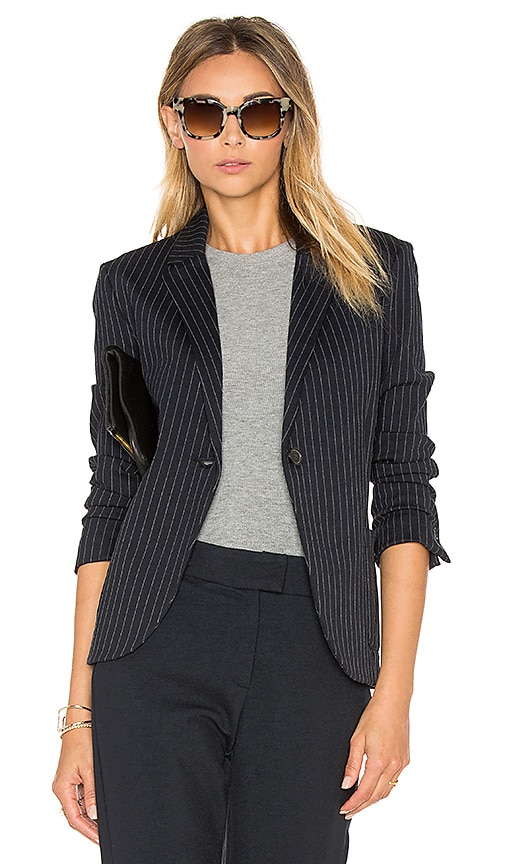GETTINGBACKTOSQUAREONE Blazer in Navy
