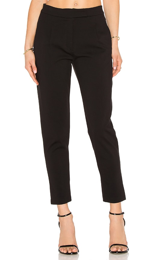 GETTINGBACKTOSQUAREONE The Menswear Pant in Black