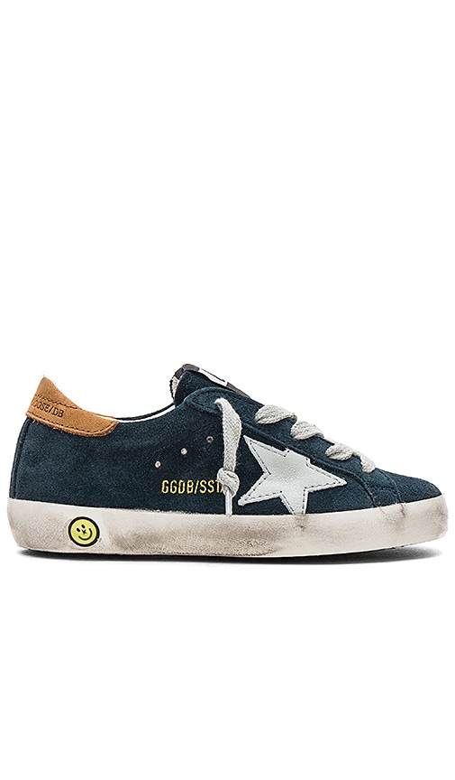 Golden Goose Superstar Sneaker in Navy