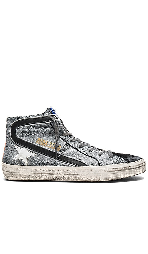 Golden Goose Slide Sneakers in Gray