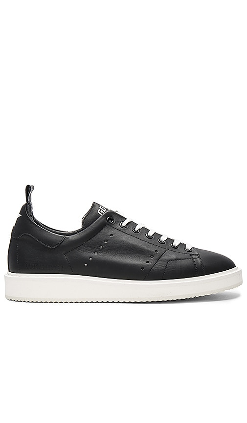 Golden Goose Starter Sneakers in Black