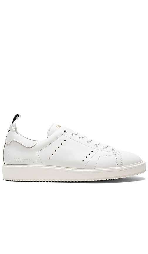 Golden Goose Starter Sneakers in White