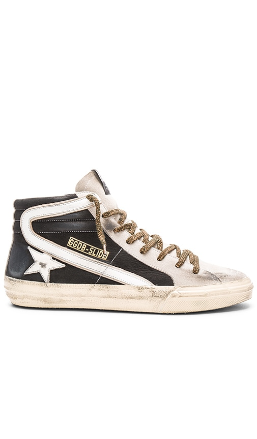 Golden Goose Slide Sneakers in Black