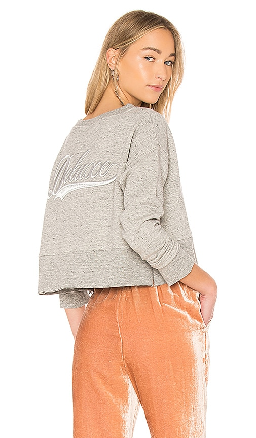 Golden Goose Rosina Sweatshirt in Gray