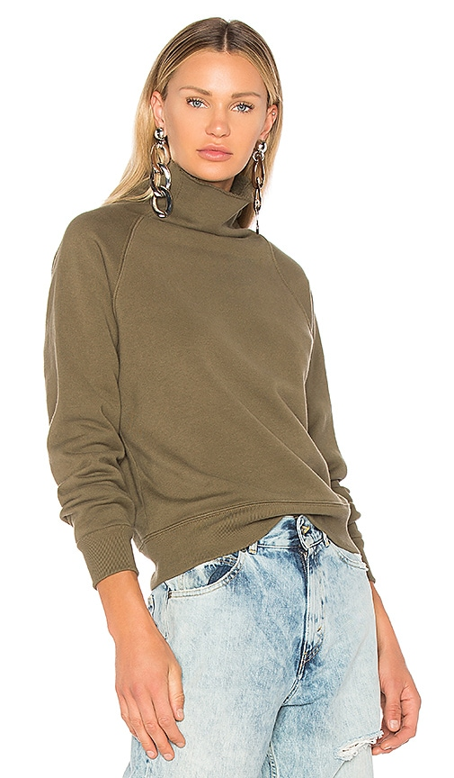 Golden Goose Tonia High Neck Sweatshirt in Green
