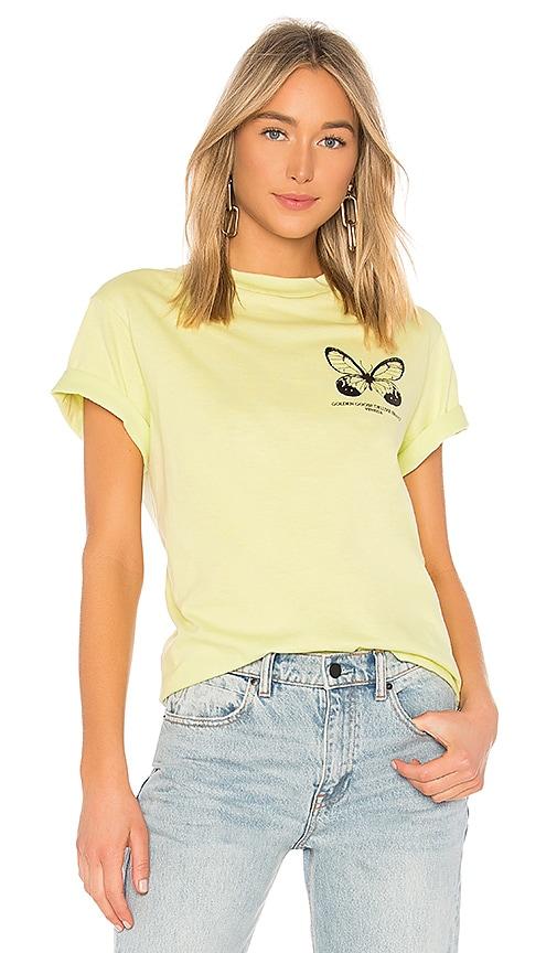 Golden Goose Golden T Shirt in Mint