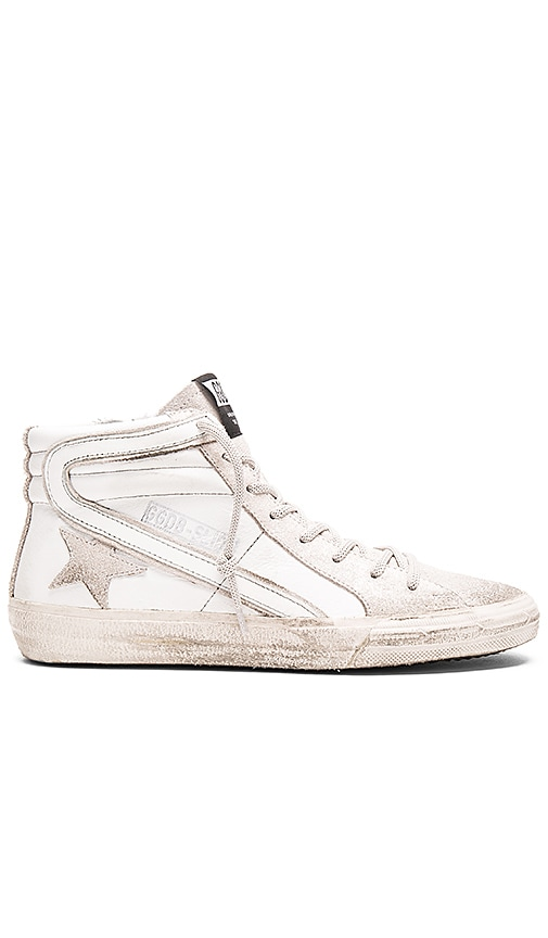 Golden Goose Slide Sneaker in White