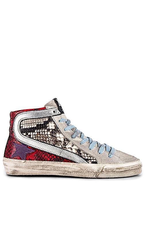 Golden Goose Slide Sneaker in Multi