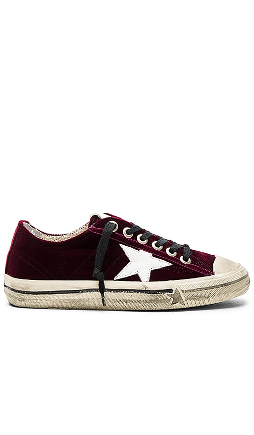 Golden Goose Vstar2 Velvet Sneakers with paypal cheap online 2015 new cheap online big sale for sale clearance prices 332KYZZ4m