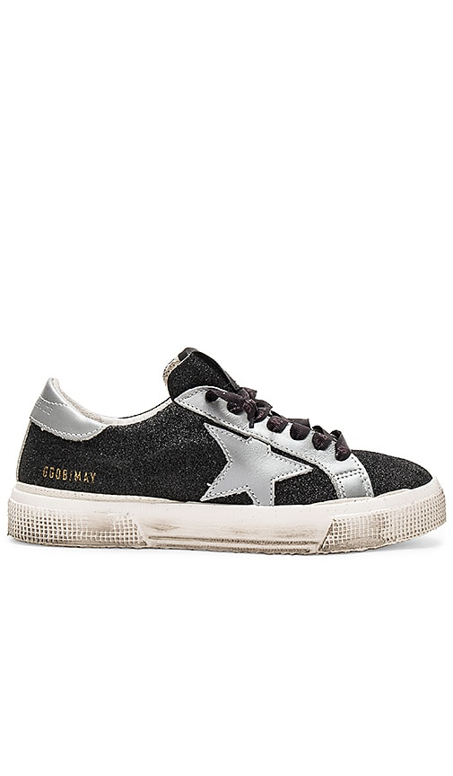 Golden Goose May Sneaker in Black