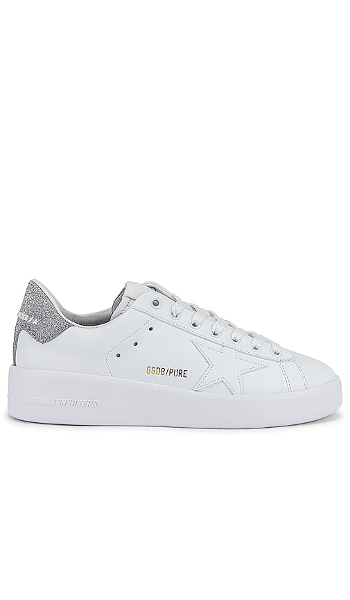 Golden Goose Pure Star Sneaker in White.
