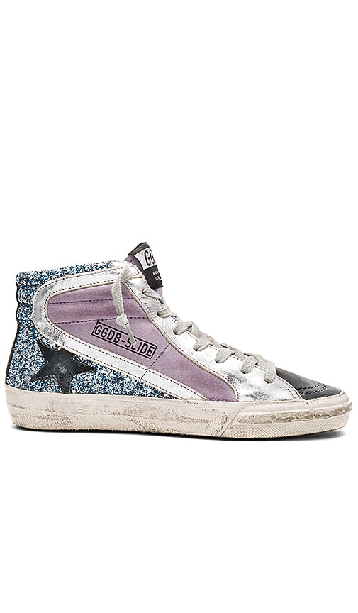 Golden Goose Slide Sneaker in Lavender