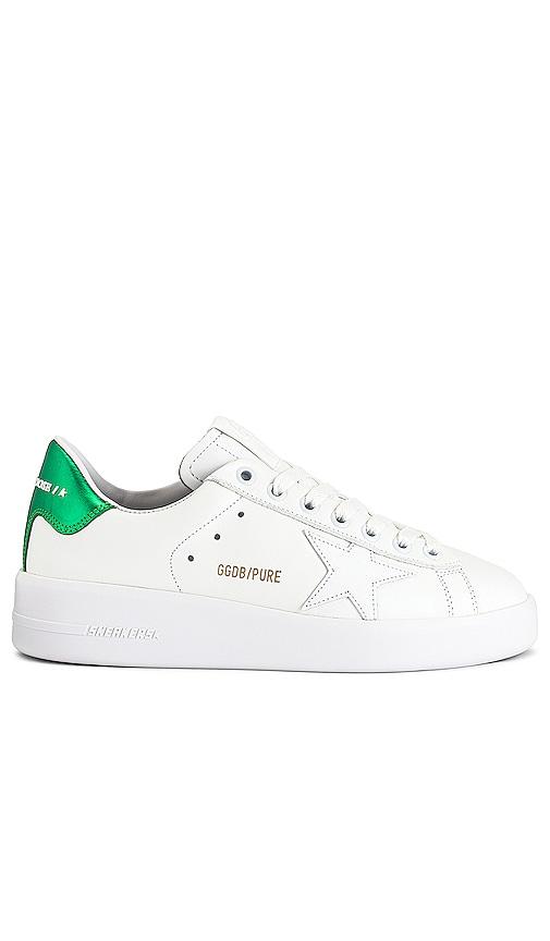 Golden Goose Pure Sneaker in White.