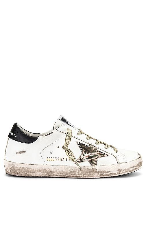 Golden Goose X REVOLVE Superstar Sneaker in White.
