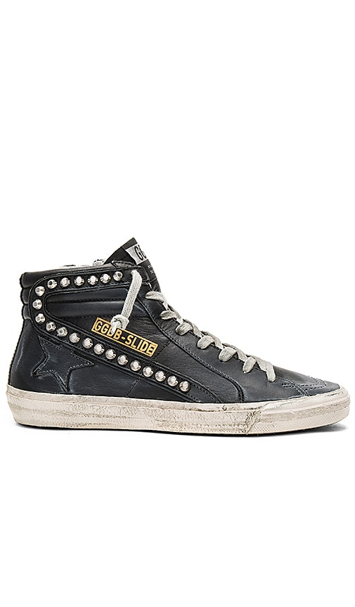 Golden Goose Slide Sneaker in Black