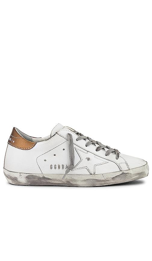 Golden Goose Superstar Sneaker in White.