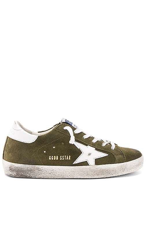 Golden Goose Superstar Sneaker in Olive