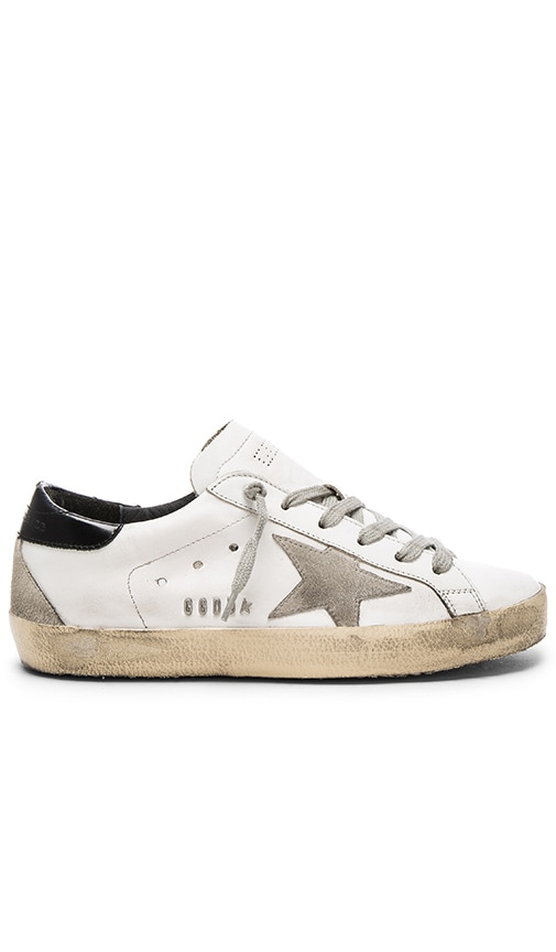 Golden Goose White & Black Superstar Sneakers cheap many kinds of best store to get cheap online mbPis97GTQ