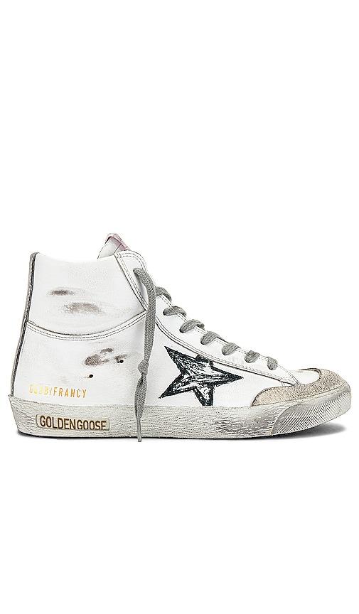 Golden Goose Francy Sneaker in White.