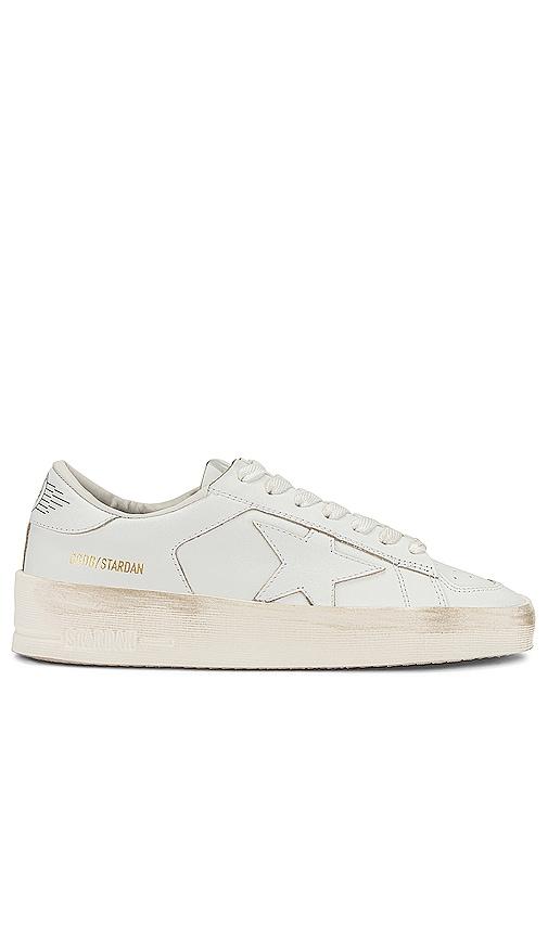 Golden Goose Stardan Sneaker in White.