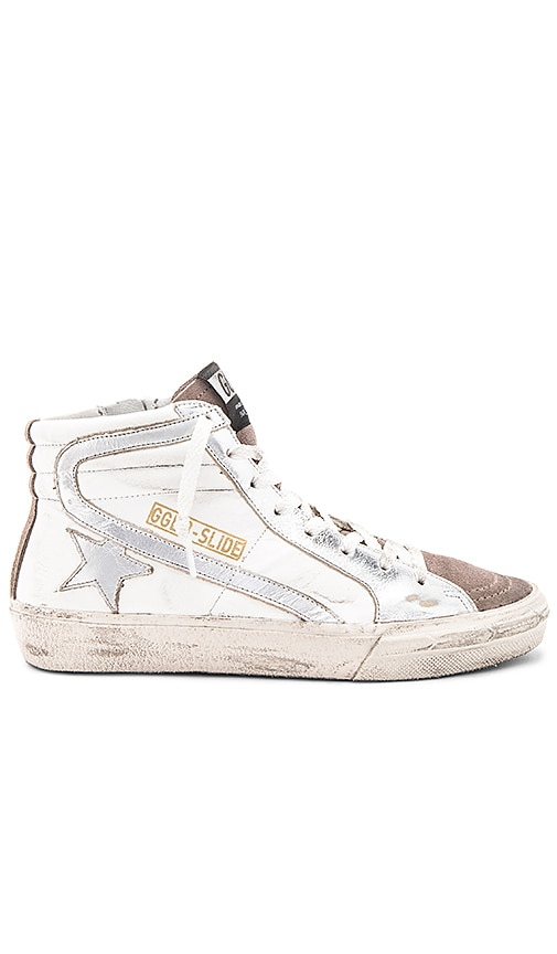 Golden Goose Slide Sneaker in White