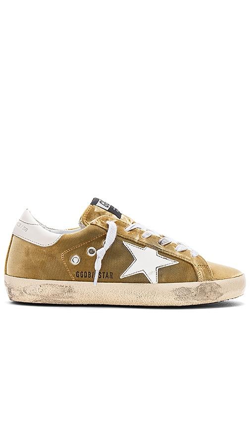 Golden Goose Superstar Sneaker in Yellow