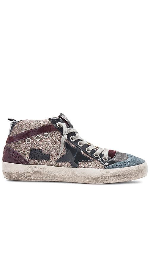 Golden Goose Mid Star Sneakers in Multi. eQEiGH9KA