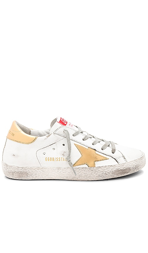 Golden Goose Superstar Sneaker in White