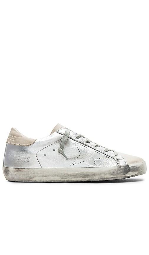 Golden Superstar Goose Sneaker Silver SkateRevolve In 435AjLR