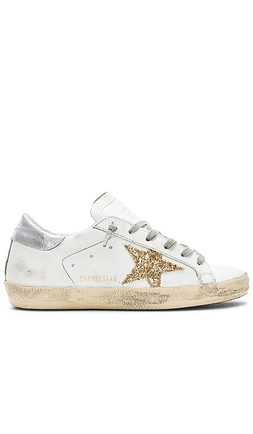 golden goose sneakers glitter star