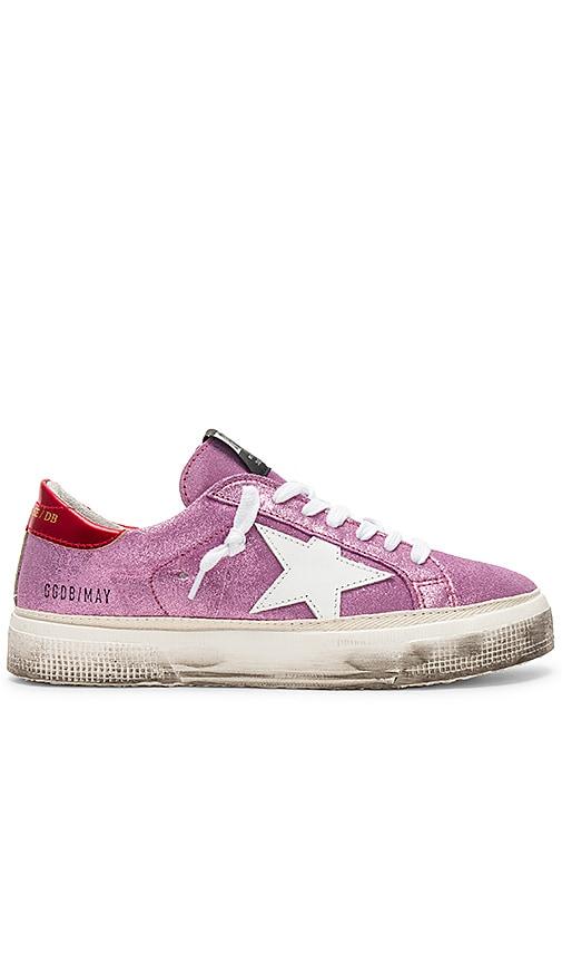 Golden Goose May Sneaker in Pink