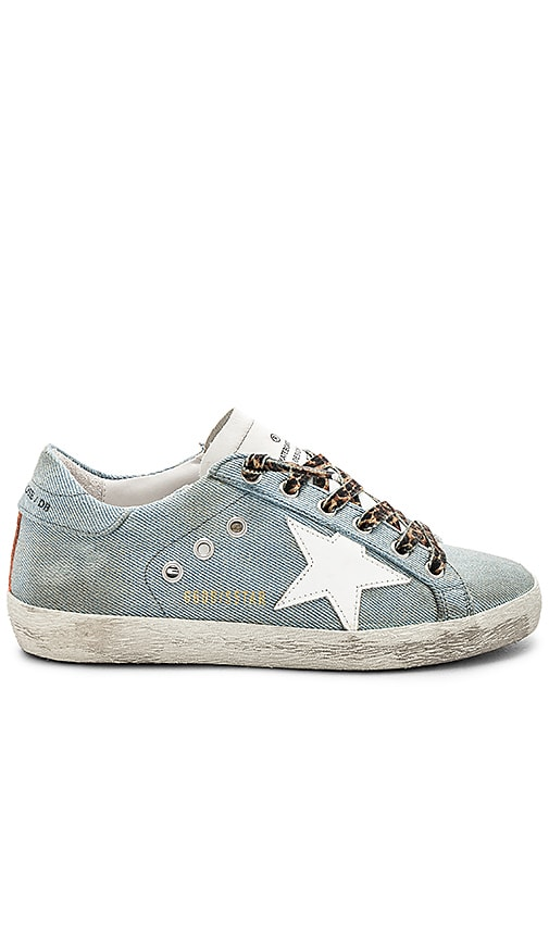 Golden Goose Superstar Sneaker in Blue