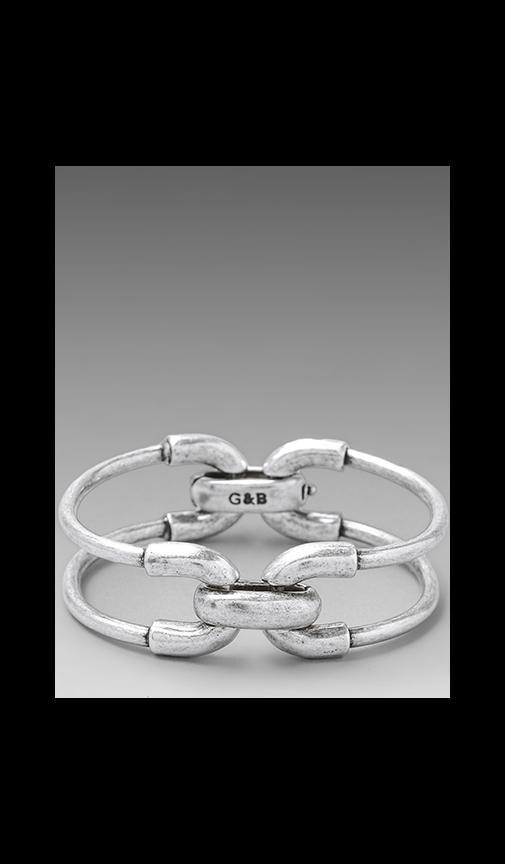 Giles Double Cortina Bracelet
