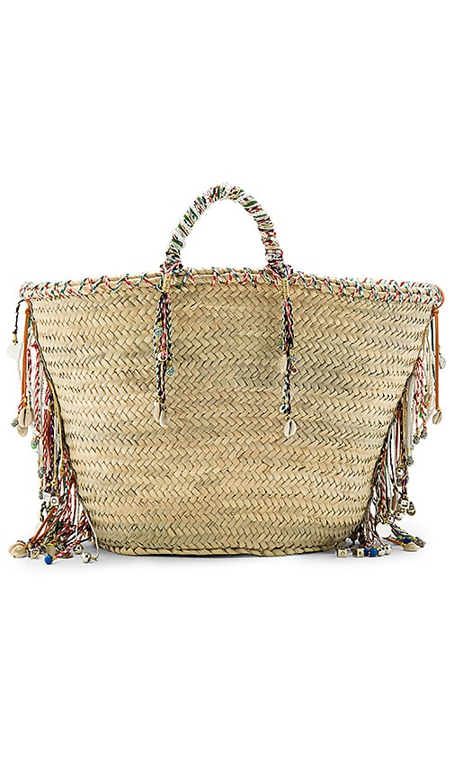 Giselle Alessia Bag in Beige