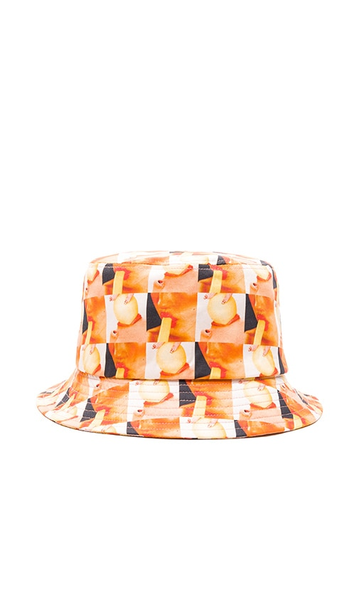 Gitman Vintage Bucket Hat in Orange