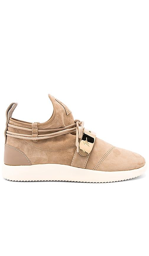 Giuseppe Zanotti Singles Sneaker in Tan