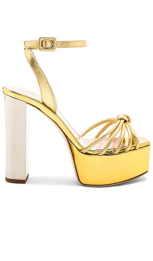 Giuseppe Zanotti Lavinia Platform in Metallic Gold