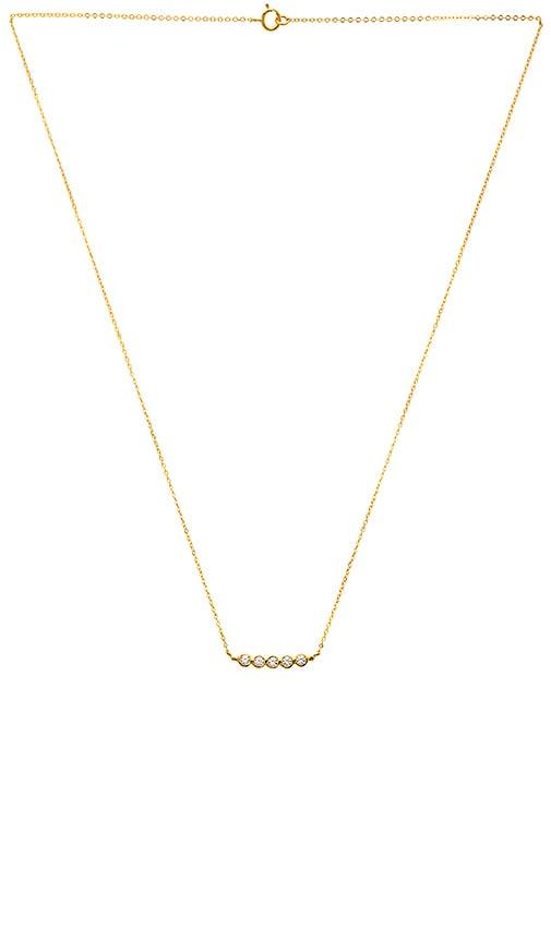 Gjenmi Jewelry Bone Necklace in Metallic Gold JtK4Y