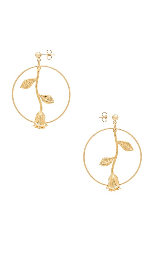 EIGHT by GJENMI JEWELRY Rose Karma Earring in Gold