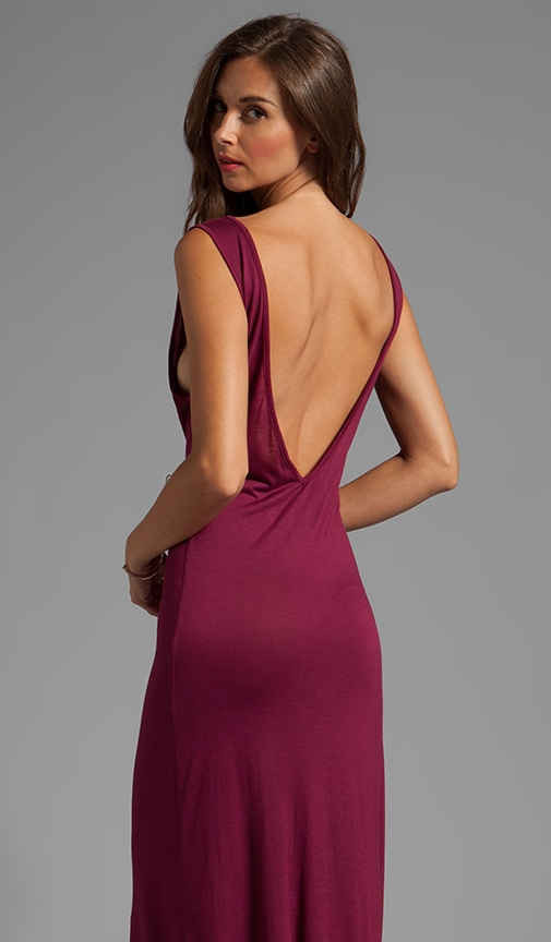 Everyday Backless Tank Maxi Dress