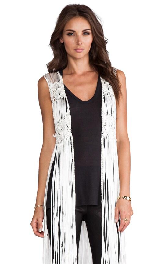 Faye Fringe Vest