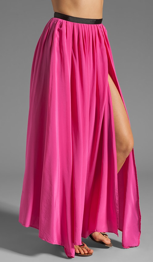 Oceana High Slit Maxi Skirt