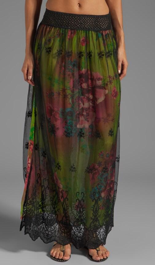 Santana Slit Maxi Skirt