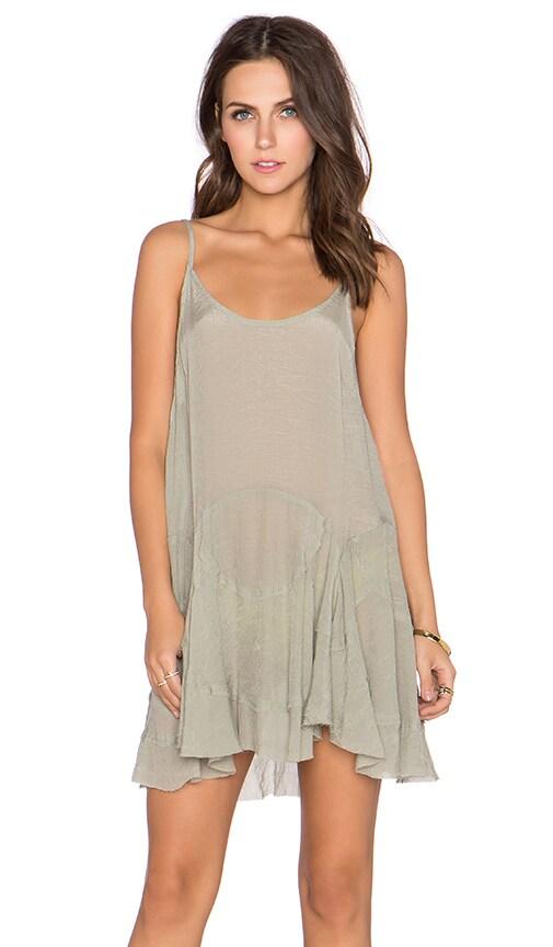 GLAMOROUS Slip Dress in Light Khaki