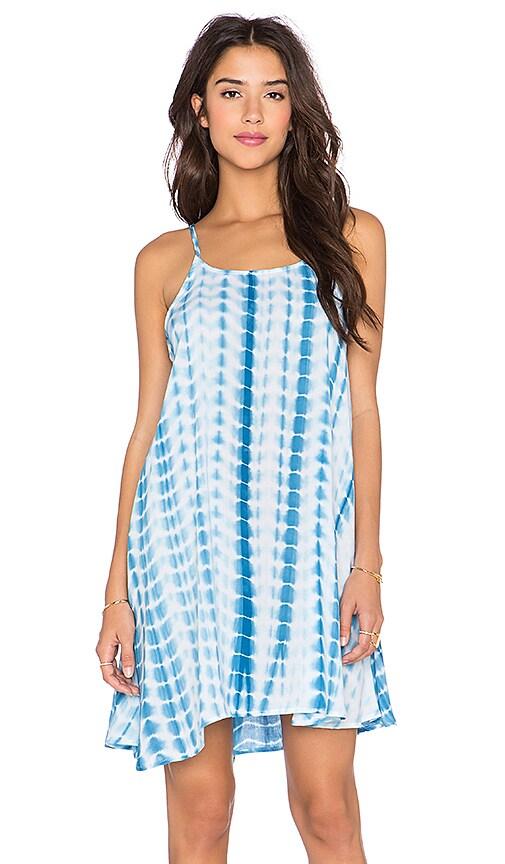 GLAMOROUS Cami Dress in Denim Blue Tie Dye